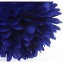 Pompon royal plavi