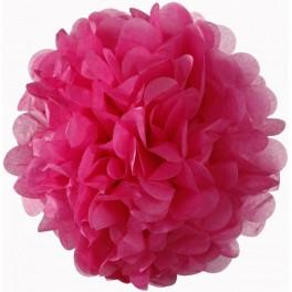 Pompon pink ružičasta
